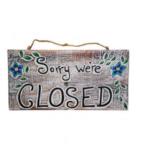 PLACA OPEN/CLOSED